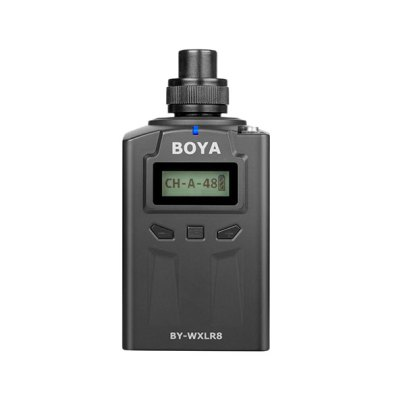 BOYA BY-WXLR8 PRO XLR Transmitter for BY-WM8 Pro System Pro Audio audio