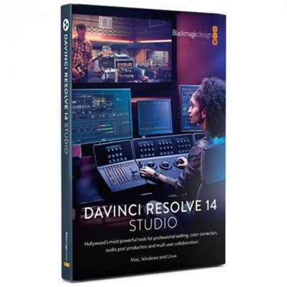 Blackmagic Design DaVinci Resolve 16 Studio (Dongle) Pro Video Black Magic