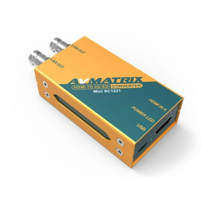 AV Matrix Mini 3G-SDI to HDMI Pocket-Size Broadcast Converter SC1112 Pro Video Avmatrix