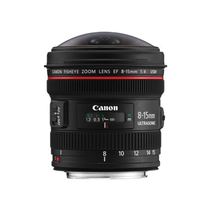 Canon EF 8-15mm f/4L Fisheye USM Lens Digital Camera Lens Canon