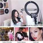 Nanguang Venus V29C Bi-Color LED Ring Light Continuous Lighting Lighting