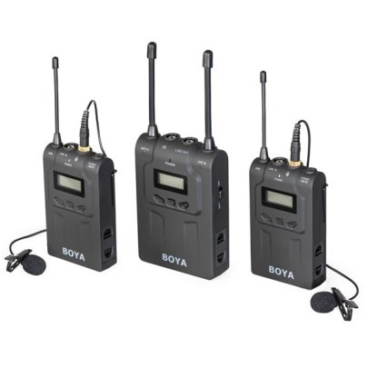 BOYA Dual-Channel Wireless Lavalier Microphone System BY-WM8-II Pro Audio audio