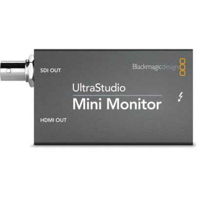 Blackmagic Design UltraStudio Mini Monitor Playback Device Post Production Black Magic
