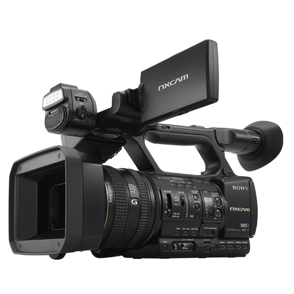 Sony Hxr-Nx5r Nxcam Professional Camcorder Pro Video Pro Video