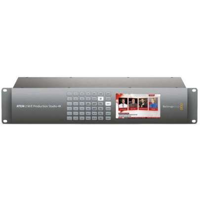 Blackmagic Design ATEM 2 M/E Production Studio 4K Pro Video Black Magic