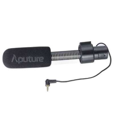 Aputure Camera Microphone V-Mic D1 Audio Wired Shotgun Mics ENG/EFP Aputure