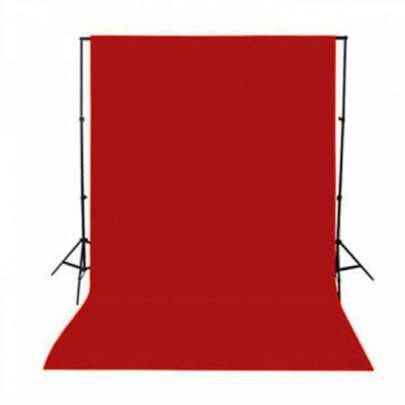 Promage Backdrop 3*6M Red COLOR Cabel & Accessories Cabel & Accessories