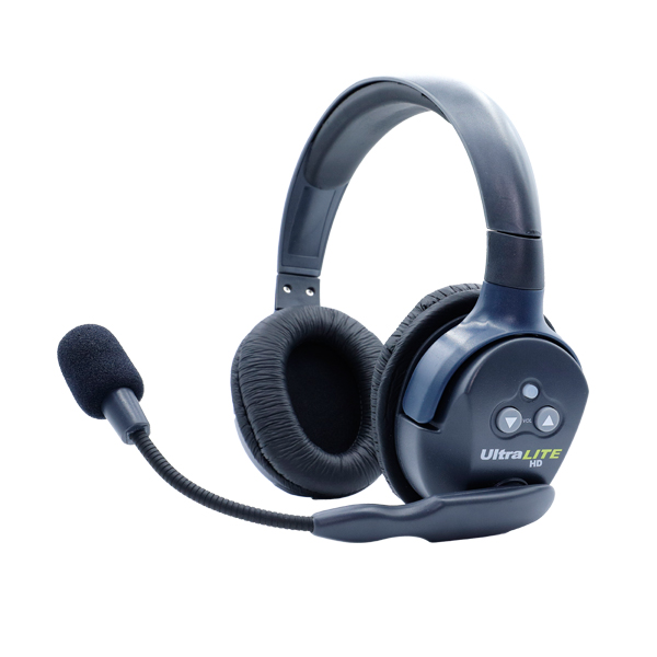 Eartec Ultralite HD Double Remote Headset  W/ Rechargable Lithium  Battery Intercom Systems Eartec