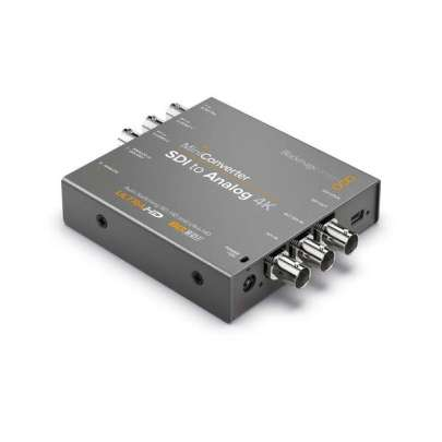 Blackmagic Design Mini Converter SDI to Analog 4K CONVMASA4K Pro Video Black Magic