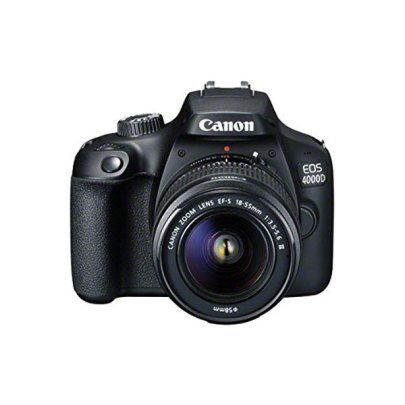 Canon Camera 4000D DSLR With EF-S 18-55mm III Lens DSLR Cameras Canon