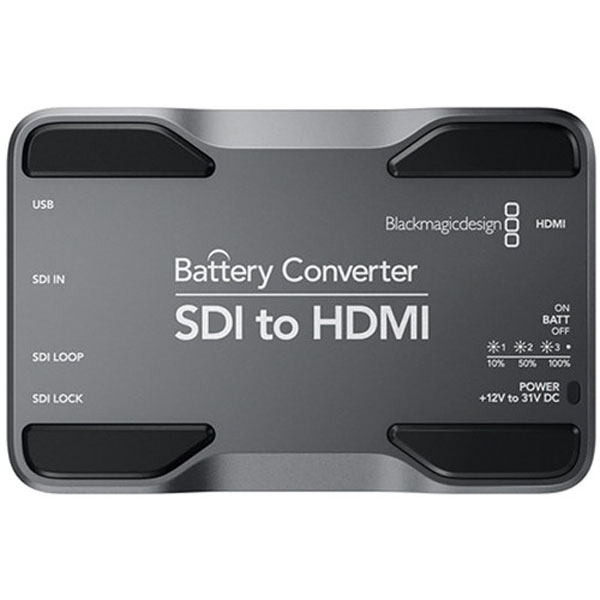 Blackmagic Battery Converter SDI To HDMI Batteries & Power Battery And Charger