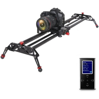 GVM Professional Video Carbon Fiber Motorized Camera Slider (32″) Pro Video GVM