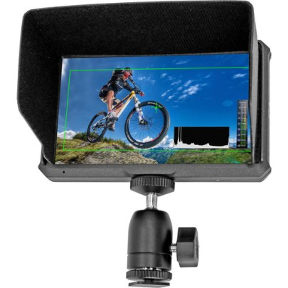 GyroVu Ultra Lightweight 5″ On-Camera Monitor with Battery Kit Monitors GVM