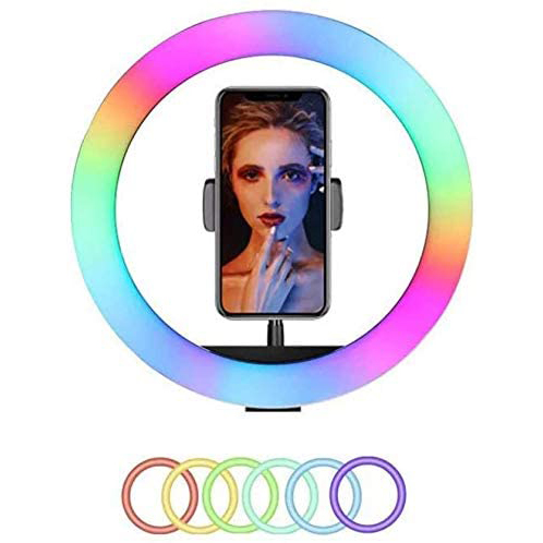 Promage 18″ RGB Dimmable LED Ring Light Continuous Lighting Promage