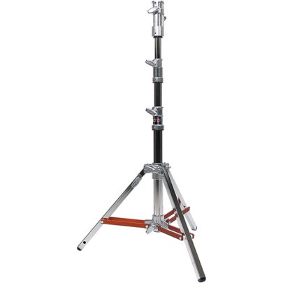Matthews Low Boy Double Riser Combo Stand (Silver, 6.4′) Professional Lighting MATTHEWS