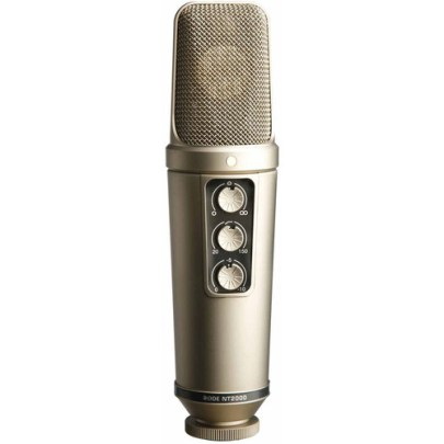 Rode NT2000 Variable Pattern Studio Condenser Microphone Large Diaphragm Recording Microphones Rode