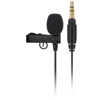 Rode Lavalier GO Omnidirectional Lavalier Microphone for Wireless GO Systems Microphones for Wireless Rode