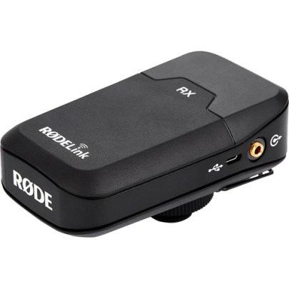 Rode RX-CAM Camera-Mount Digital Wireless Receiver (2.4 GHz) Microphones for Wireless Rode