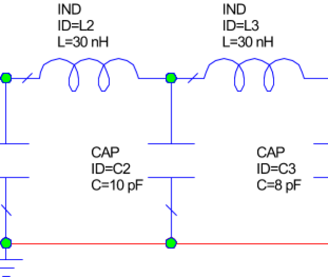 Repeat Steps  To Edit The Inductor And Capacitor Values To Match Those In The Following Figure To Edit Capacitor Values Set The C Parameter Value