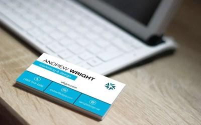 Vertical vs. Horizontal Business Card