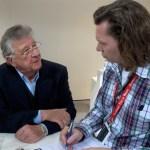 AWR Herausgeber Bernd Schweickard im Exklusiv-Interview mit Rennlegende Hans Hermann