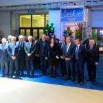 Prinz Laurent eröffnete am Freitag den Brüssel Auto Salon