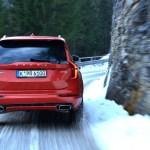 VOLVO XC90, D5 AWD, R-Design, Signal Red
