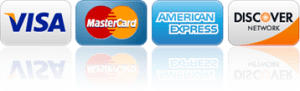 we accept visa, mc, amex, discover, paypal