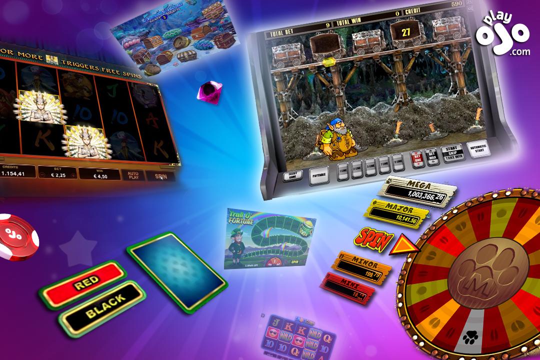 Online slot games with bonus