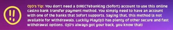 directbanking tip