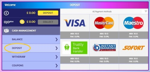 Step 2 – Choose your payment method