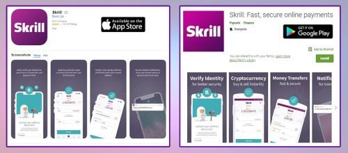 Skrill app