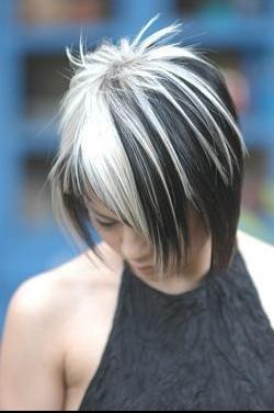 blond avec bande brune chatain chocolat coiffure et coloration forum beauté