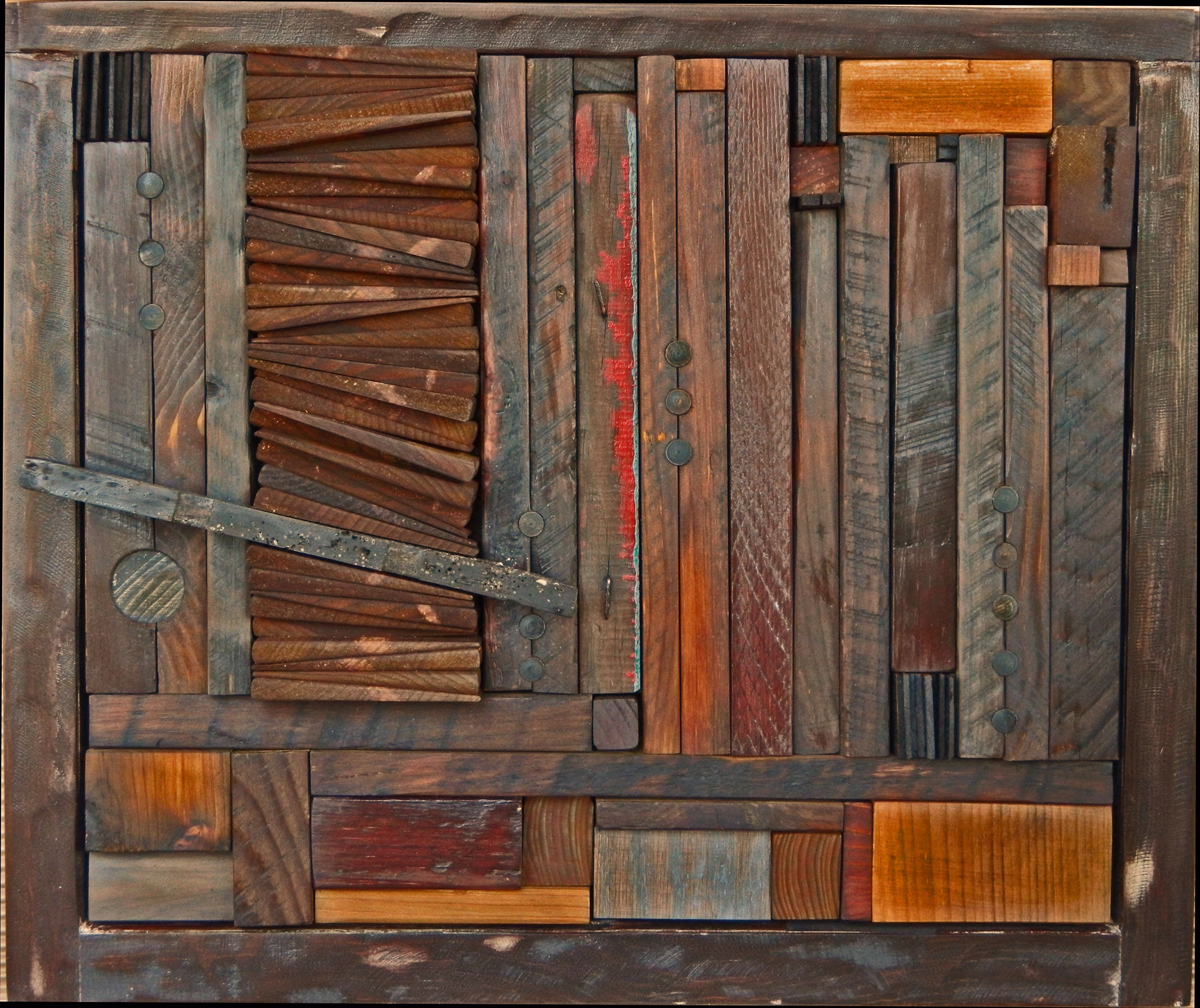 abstract wood scrap art ideas pinterest on wall paintings id=52316