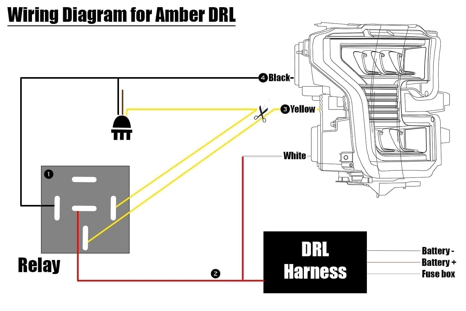 How To Wire F150 Drl To Be Amber