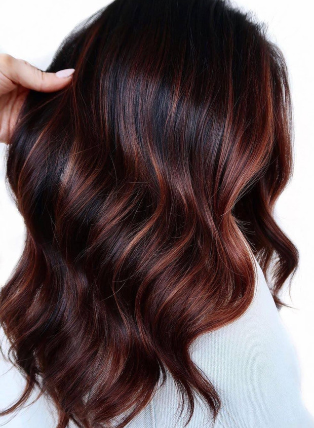 Do you want something more vibrant or out of your comfort zone? Try the caramel apple dye.