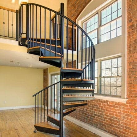 Indoor Spiral Staircases 5 000 Design Options Paragon Stairs | 9 Ft Spiral Staircase | Lowes | Toronto V3 | Lowes Com | Wood Treads | Basement Stairs