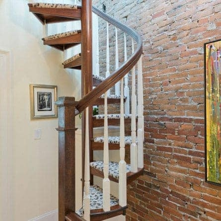 Indoor Spiral Staircases 5 000 Design Options Paragon Stairs | Wooden Spiral Staircase For Sale | 3 Floor | Twist | Wrought Iron | 36 Inch Diameter | Free Standing