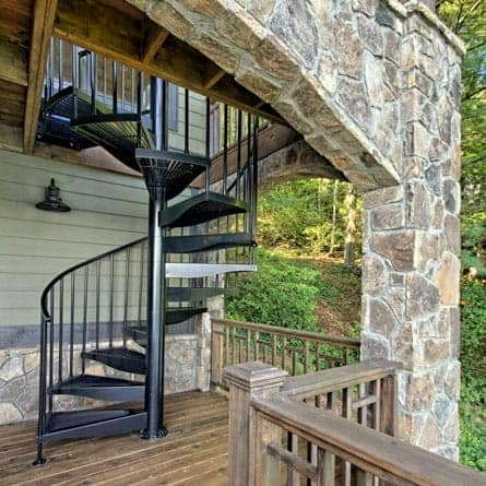 Outdoor Spiral Staircases Weatherproof Paragon Stairs | Wrought Iron Spiral Staircase For Sale | Architectural Antiques | Stair Parts | Iron Balusters | Alibaba | Black Cast