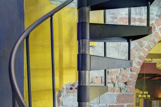 Spiral Staircase Height Riser Step Height Paragon Stairs   12 Ft Spiral Staircase   Stair Treads   Steel   Mylen Stairs   Staircase Kit   Stair Kit
