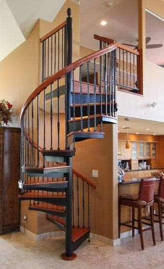 Metal Staircases Prefab Indoor Outdoor Paragon Stairs | Metal Stairs With Wood Treads | Straight Steel | Single Steel Stringer | I Beam | Metal Railing | Timber