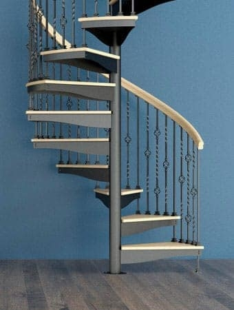 Spiral Staircases Prefab Custom Designs Paragon Stairs | Metal Spiral Staircase Cost | Iron | Deck | Stainless Steel | Stair Parts | Staircase Kits