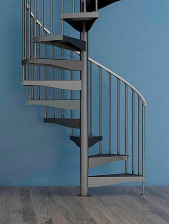 Spiral Staircases Prefab Custom Designs Paragon Stairs | Spiral Staircase Wooden Steps | 2 Floor | Traditional | Enclosed | Kid Friendly | Solid