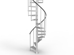 Staircase Archives Paragon | 12 Foot Spiral Staircase | Lowes | Stair Treads | Black Spiral | Steel | Gray Interior
