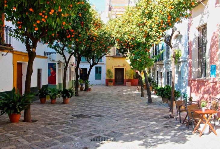 24 horas en el Barrio de Santa Cruz de Sevilla