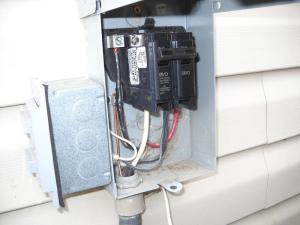 Double on AC disconnect  Electrical Inspections  InterNACHI®️ Forum
