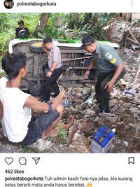 Foto Kecelakaan Sopir Angkot Ini Bikin Bingung Netizen di Medsos