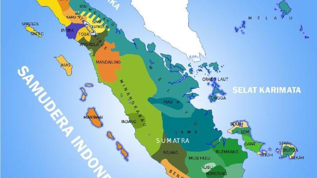 Negara ini memiliki perairan sangat indah dengan luas 3.257.483 km 2. Kondisi Geografis Pulau Sumatera Berdasarkan Peta Lengkap Letak Astronomisnya