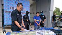 Kurir Sabu Jaringan Lapas Lampung Ditangkap di Tol Tangerang