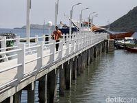Dermaga Baru Pulau Rinca Keren Banget